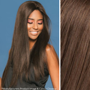 Imperfect Wig Pro Christina Wig - Hand Tied 100% Human Hair - Color 6 Brown