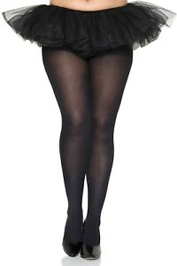 🔥🔥Plus Size OPAQUE COLOR TIGHTS Pantyhose Fits to 225 LBS 🌞 QUEEN Stretchy!