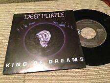 "DEEP PURPLE - SPANISH 7"" SINGE SPAIN PROMO KING OF DREAMS - HARD ROCK RCA 90"