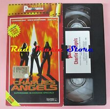 film VHS cartonata CHARLIE'S ANGELS C. Diaz L. Liu PANORAMA 2000 (FP3 *)  no dvd