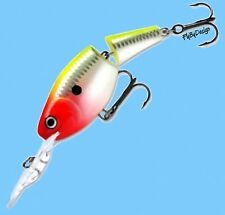Rapala Jointed CLOWN (JSR07 CLN) Rattling Suspending Shad Rap Fishing Lure