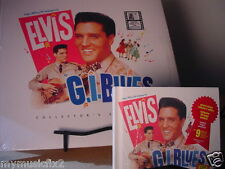 ELVIS PRESLEY G.I. BLUES DELUXE HARDCOVER BOOK + CD & LP SEALED LIMITED EDITION