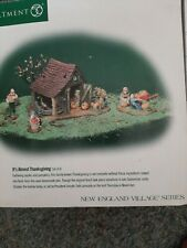Dept 56 New England Village It'S Almost Thanksgiving #56639 Set of 4