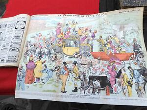 LA CARICATURE ANNEE COMPLETE 1884 illustré ROBIDA DRANER JOB LOYS TROCK ... 16