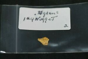 GOLD NUGGETS .88 GRAMS,ALASKA PLACER 1 # 4, 20.5K TO 22K PURITY, LOW SHIPPING*.