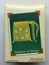 "Hallmark Keepsake Ornament ""Presents of Angels"" Mib 2003 Miniature Ornament"