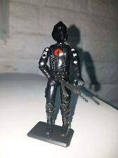 NEW G.I.JOE CUSTOM BLACK MAJOR NIGHT OPS COBRA SOLDIER B.A.T. 1.0