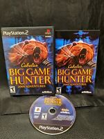 Cabela's Big Game Hunter 2005 Adventures (Sony PlayStation 2) PS2 Complete