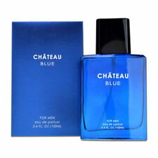 CHATEAU BLUE By Sandora For Men EDP Spray 3.4oz Perfume Fragrance SEALD BOX~ USA