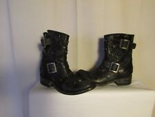 boots/bottines MEXICANA cuir vieilli noir grand 38
