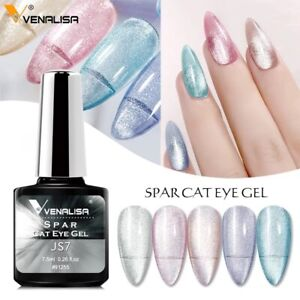 Spar Cat Eye Nail Gel Polish Venalisa UV & LED Soak off Diamond Magnet Manicure