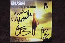 BUSH Band Multi Signed Man on the Moon CD Album Booklet 4 AUTO 's JSA COA
