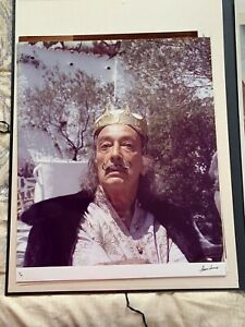 Marc Lacroix, King Dali, Original photograph, hand signed and numbered #19