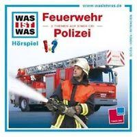 WAS IST WAS - FOLGE 19: FEUERWEHR/POLIZEI CD HÖRSPIEL++++++++NEU