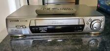 PANASONIC NV-FJ700 VHS VCR Video Cassette Player 6 Head Hi-Fi Stereo Remote PAL