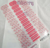 Jamberry Little Moments Jr 0916 84A7 Nail Wrap Full Sheet