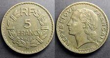 5 Francs LAVRILLIER, BRONZE-ALUMINIUM 1940