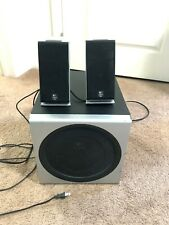 Logitech Z 2300 2 speaker and 1 subwoofer used good and working condition