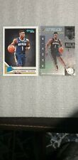 2019-20 PANINI DONRUSS RATED ROOKIE/ ILLUSIONS LOT OF 2 CARDS ZION WILLIAMSON