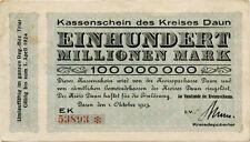 Germany 100.000.000 Mark 1923 Daun 53893*