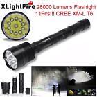 32000LM 24x XML T6 LED Flashlight 5 Modes Torch 26650/18650 Camping Lamp Light