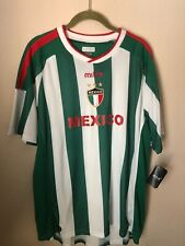 Mens Mitre Mexico Soccer / Football Jersey Shirt  Size Large NWT