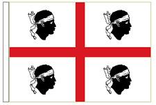 Italy Sardinia Sleeved Courtesy Flag ideal for Boats 45cm x 30cm