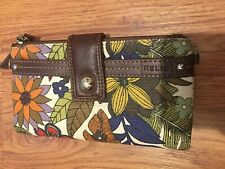 Relic Floral Wallet Great Condition US Seller