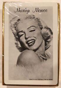 Marilyn Monroe 1956 Sealed Frank Powolny Fur & Pearls Photo Playing Cards Deck