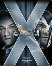 X-Men: First Class (Blu-ray Disc, 2014, SteelBook)