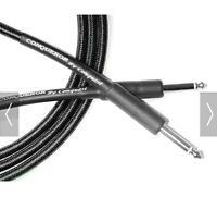 21 ft Black Tweed Instrument Cable Conquest Sound Made in USA Lifetime Warranty