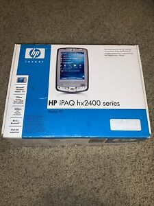 Boxed HP iPAQ HX2400 Series Pocket PC WiFi Bluetooth