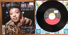 """ANITA BAKER - Same Ole Love (365 Days A Year) Japan 7"""" Promo Vinyl P-2247"""