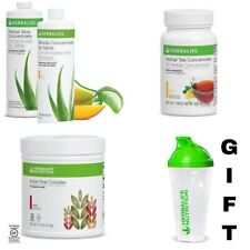 Herbalife -Herbal Aloe, Tea 1.8Oz and Active Fiber - FREE Shipping & FREE GIFT