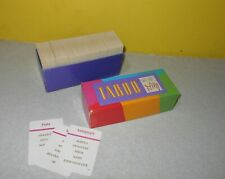 Replacement Full Set of Cards For 1989 /& 2000 TABOO Game Pieces Parts