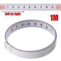 Adhesive Miter Saw Track Tape Measure Backing Metric Steel Ruler Measurements