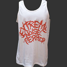 EXTREME NOISE TERROR PUNK ROCK METAL T-SHIRT napalm death VEST TOP S M L XL 2XL