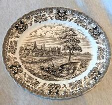 "Olde Country Castles by British Anchor ""Ironstone"" - Vintage Plate"
