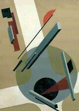 Proun 5. Communist Suprematism Poster EL LISSITZKY