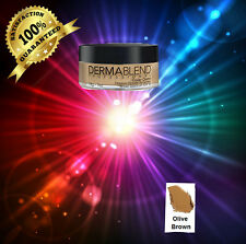 Dermablend Cover Creme 1oz  OLIVE BROWN 30ML/1 0Z.NEW IN BOX
