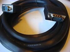 Ten SVGA Male to Male Monitor 10' (ft) Cables New  double shielded  17306 *- B4