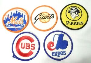 11 Assorted Team Baseball Patches Embroidered Cloth