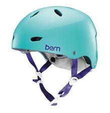 Bern Women's Brighton Bicycle Skate Helmet Eps Summer Satin Seafoam, Xs/S