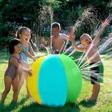 Kids Summer Water Ball Sprinkler Beach Inflatable Spray Ball Garden Outdoor Game