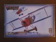 """1/32 Wingnut Wings Fokker D.VII (Fok) """"Early"""" #32067 Kit Started, Selling Cheap!"""
