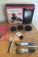 bare Minerals GET STARTED KIT 7-PC w/ Full Size 8g Matte MEDIUM C25