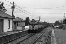 PHOTO  1985 CIE 001 CLASS BEET TRAIN 020 AT KILSHEELAN A CIE 001 CLASS LOCOMOTIV