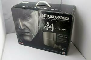 PlayStation 3 console Metal Gear Solid 4 Premium Edition boxed Japan PS3 system