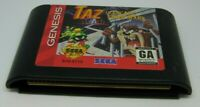 Taz in Escape From Mars (Sega Genesis, 1994) video game tested great game only
