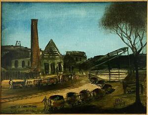 Kevin Charles (Pro) Hart • Early Coalmine Wallsend  • 34.5 x 45cm